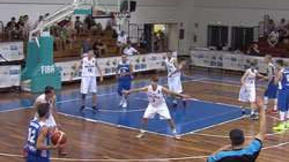 San Marino batte MoldaviaEuropei basket U18, San Marino batte Moldavia 78-68: ora sotto col Galles