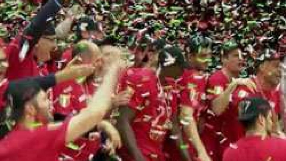Basket: l'Olimpia Milano conquista il 27° titolo tricolore della sua storiaBasket: l'Olimpia Milano conquista il 27esimo titolo tricolore della sua storia