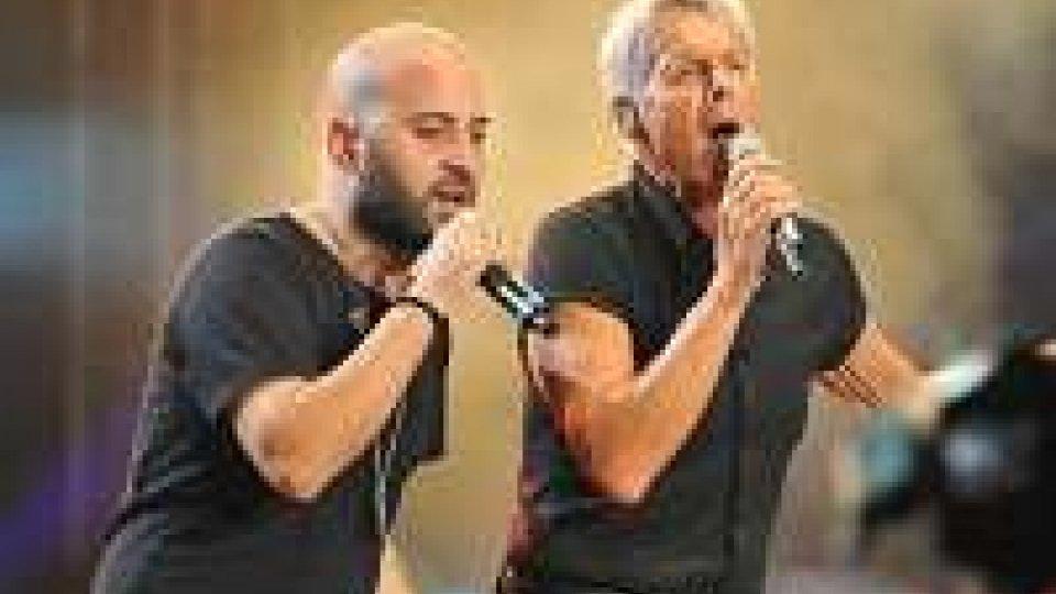 Terza serata di Sanremo, Negramaro e Gino Paoli con Danilo Rea