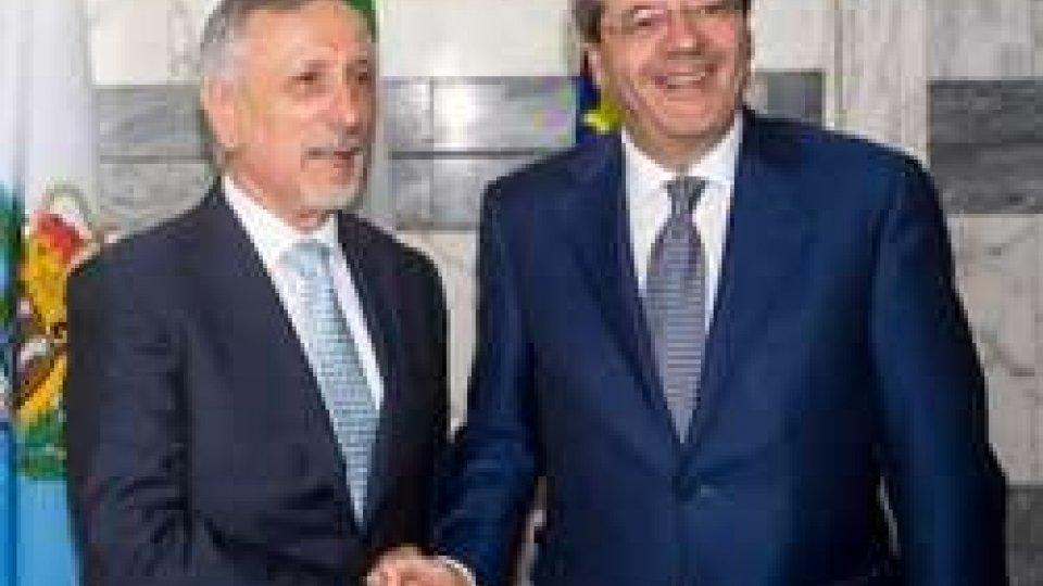 Incontro bilaterale a Roma tra il Segretario Valentini e il Ministro Gentiloni