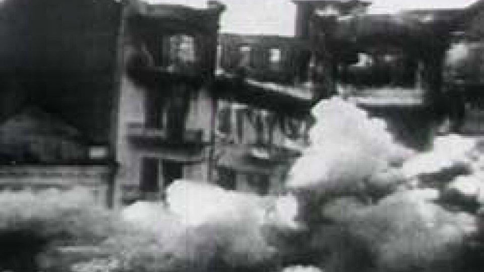 """Commemorazioni per il tragico bombardamento a San Marino74 anni di ricordi e testimonianze: 26 GIUGNO '44 """" San Marino sotto le bombe"""""""