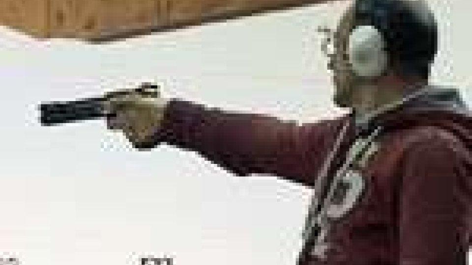 San Marino - Tiro a segno. Mirko Bugli in finale nella pistola 10 metri