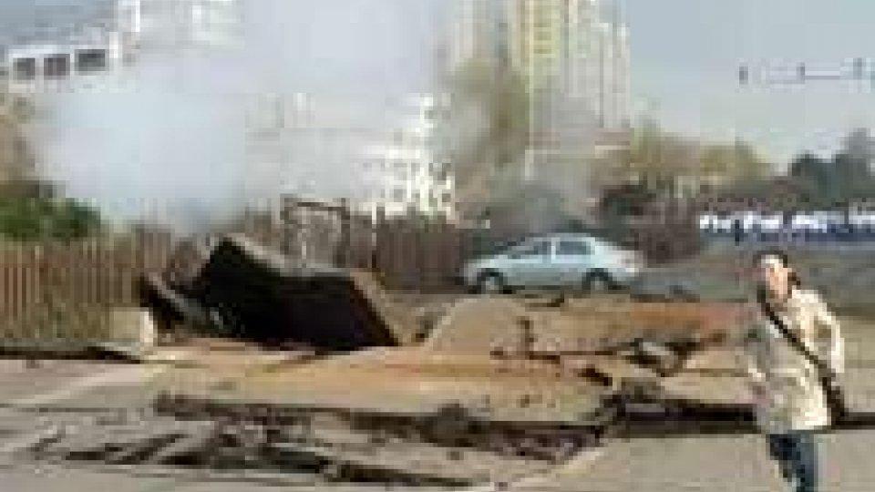 Cina: esplosione oleodotto; bilancio sale a 44 morti
