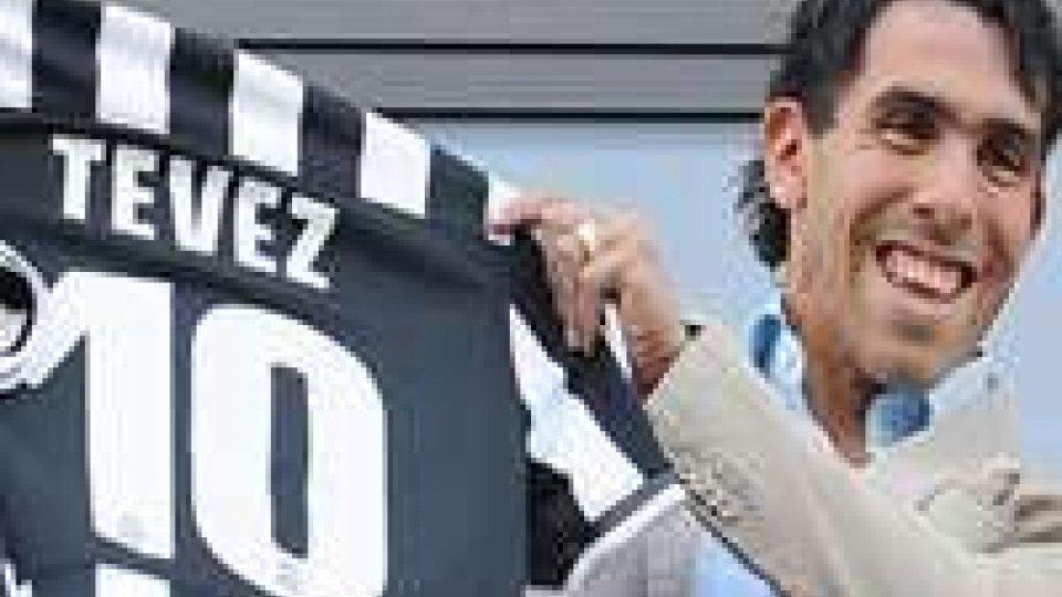 Tevez, il nuovo 10 bianconeroTevez, il nuovo 10 bianconero