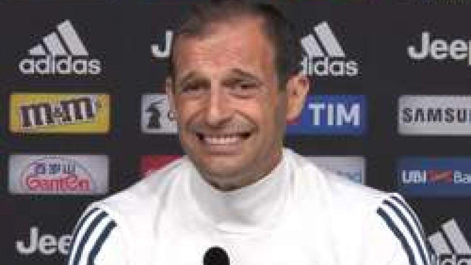 """Allegri: """"Percentuale altissima che resto alla Juve"""""""