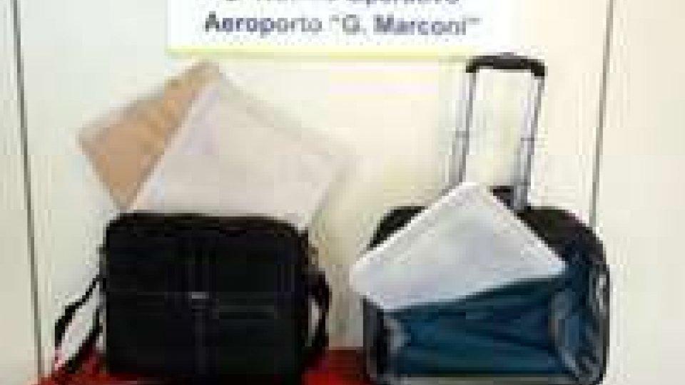 Bologna: sequestrati al Marconi 2,7 kg di cocaina
