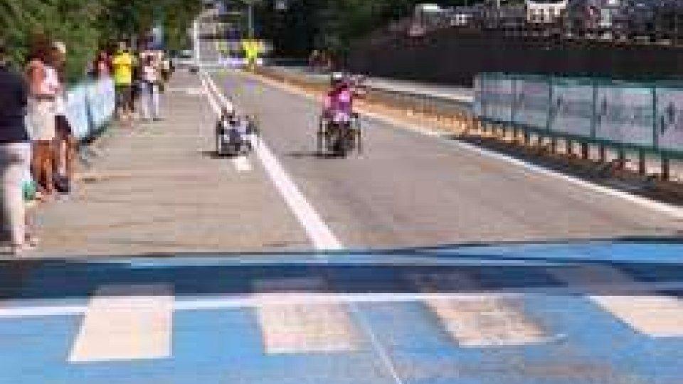 Giro d'Italia di Handbike: Diego Colombari e Roberta Amadeo vincono la tappa di San Marino