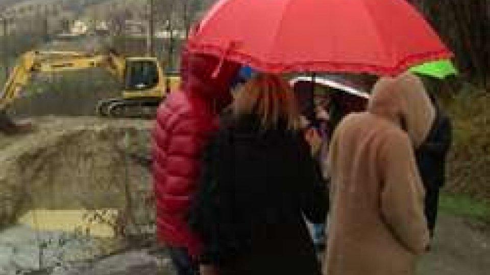via RancoViabilità: avviati i lavori su strada Coriano-San Marino