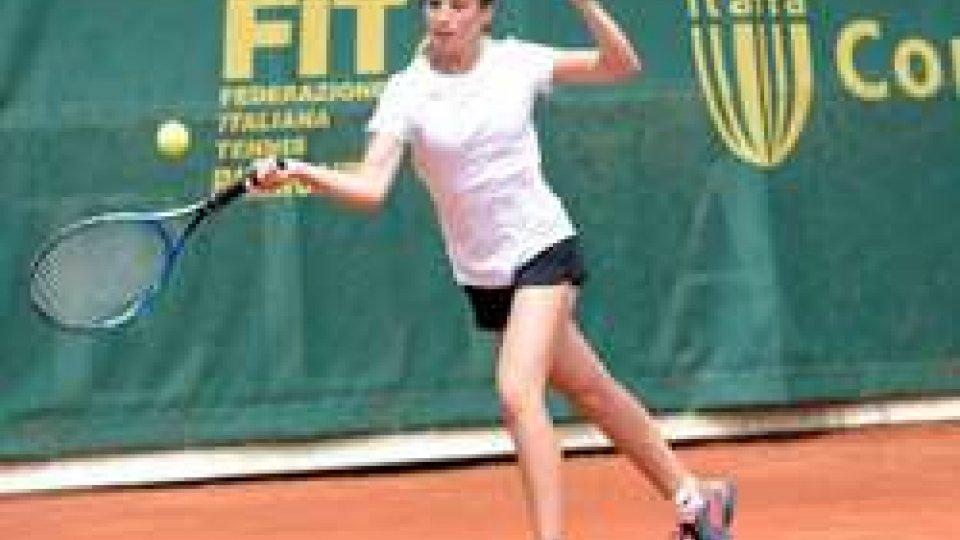 Andrea Maria Artimedi in semifinale nel Torneo U16 Tennis Europe di Mestre