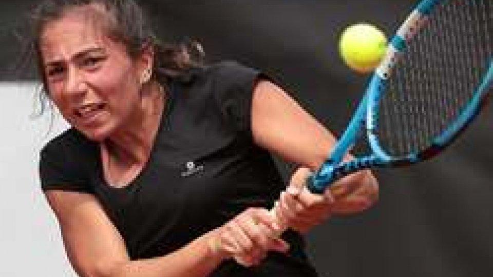 Anastasia Piangerelli esce al 1° turno a Tarviso, Andrea Maria Artimedi avanza nell'U16 Tennis Europe di Mestre, in semifinale anche in doppio con Erika Di Muzio