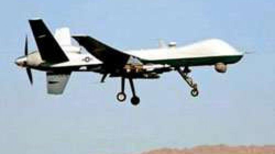 Droni all'Italia, Usa danno l'ok