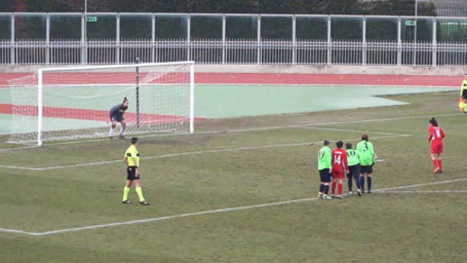 San Marino Academy - ImoleseGoleada della San Marino Academy che vince 6-1 a Imola. Tripletta per Rigaglia e gol di Lanotte, Menin e Barbieri.