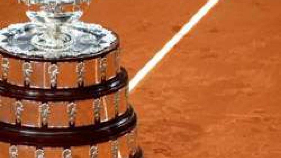 Coppa Davis: vince la pioggia