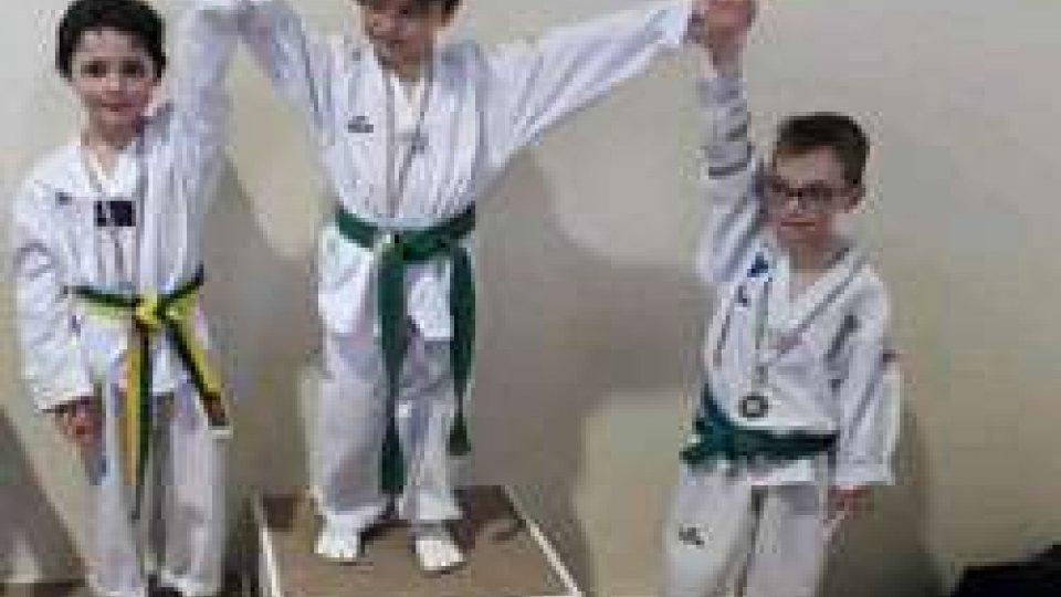 Taekwondo: tre medaglie al Campionato Regionale ER