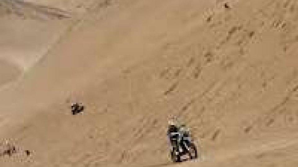 Dakar: ecco la nuova moto di Zanotti