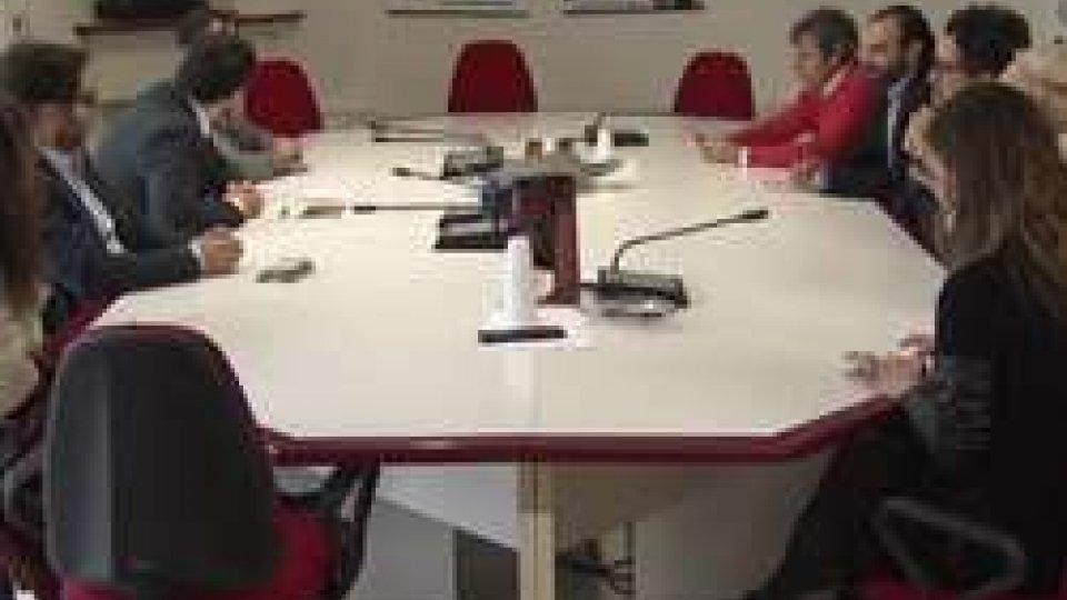 Capigruppo Pd di Marche ed Emilia Romagna in visita al Psd
