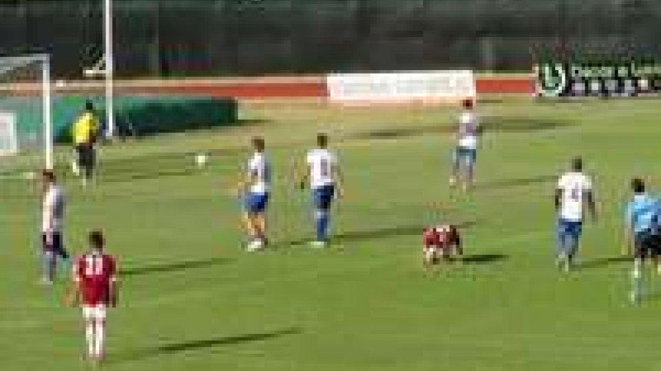 Amichevoli d'agosto : Santarcangelo  – Sampierana  7-0