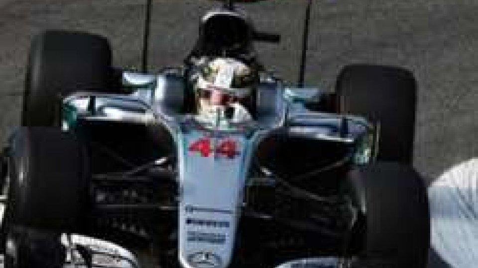 Hamilton in pole al GP d'Italia