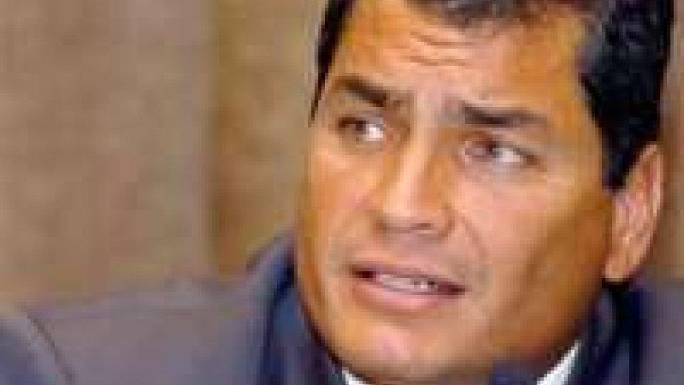 Ecuador: Correa rieletto presidente al primo turno