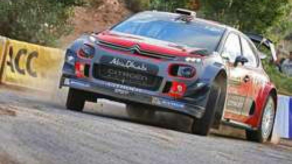 Kris Meeke vince il Rally di CatalognaIl britannico Kris Meeke vince il Rally di Catalogna