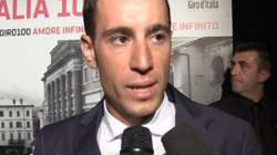 """Vincenzo NibaliNibali: """"Sarà il Giro di tutta l'Italia"""""""