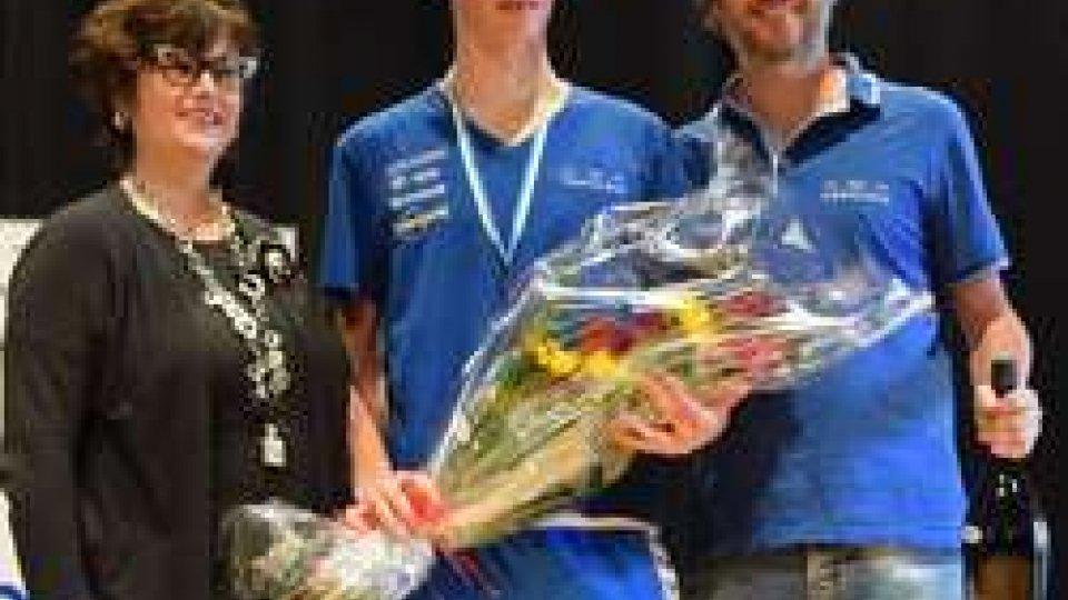 Il Comitato Paralimpico premia il più giovane partecipante della 60ª Lugo -  San Marino