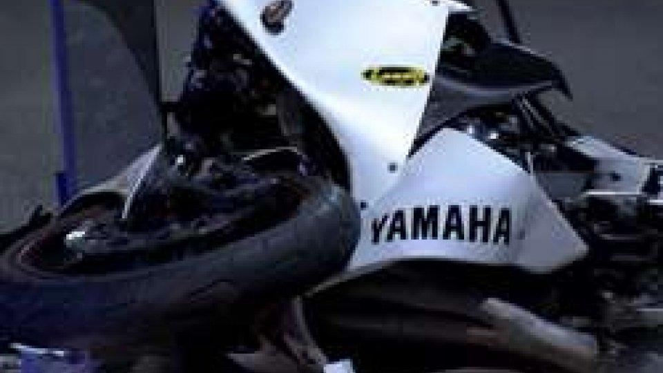 I rilievi della Polizia CivileIncidente in moto a Serravalle: i rilievi della Polizia Civile sul posto