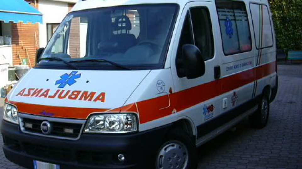 Un'ambulanza. Foto repertorio