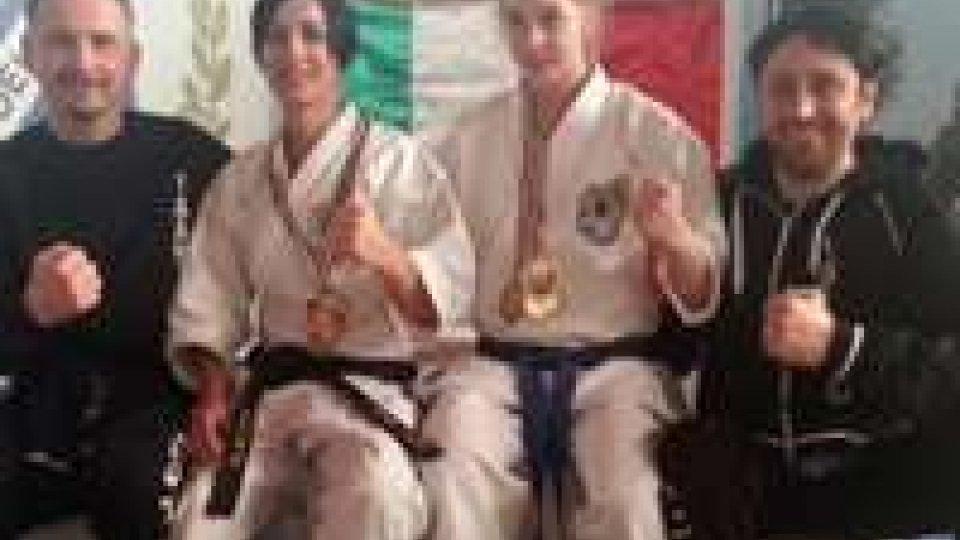 Karate: cinque medaglie per le atlete dell'ISSHINRYU a Sossano