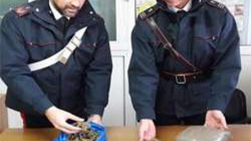 Riccione: spacciatore nella rete dei Carabinieri