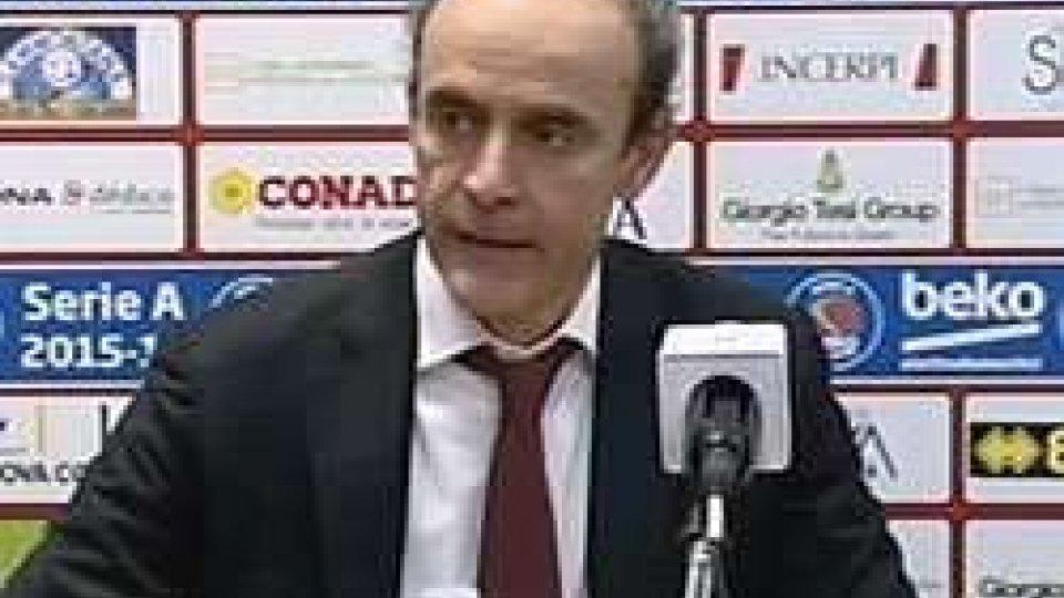 """Riccardo PaoliniPaolini critico con gli arbitri: """"Pochi liberi per noi, eccessivo il tecnico su Lydeka"""""""