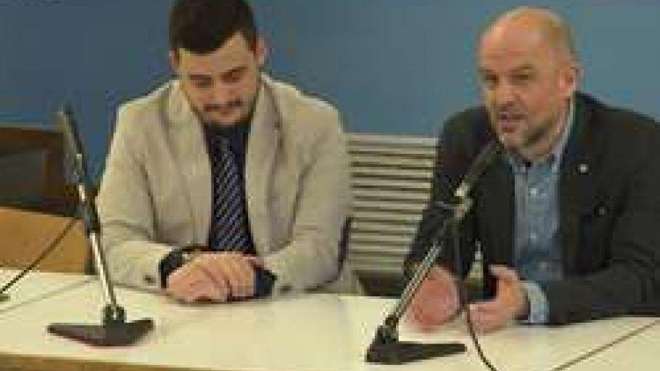 Marco Podeschi e Luca PelliccioniInformazione: incontro Segretario Podeschi e Direttivo Consulta