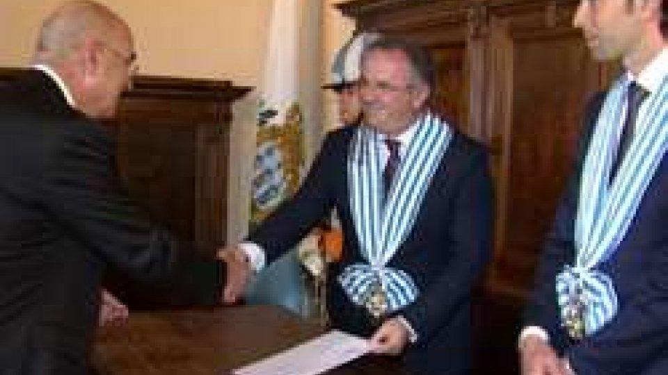 AmbasciatoriSan Marino: 8 nuovi Ambasciatori presentano lettere credenziali alla Reggenza