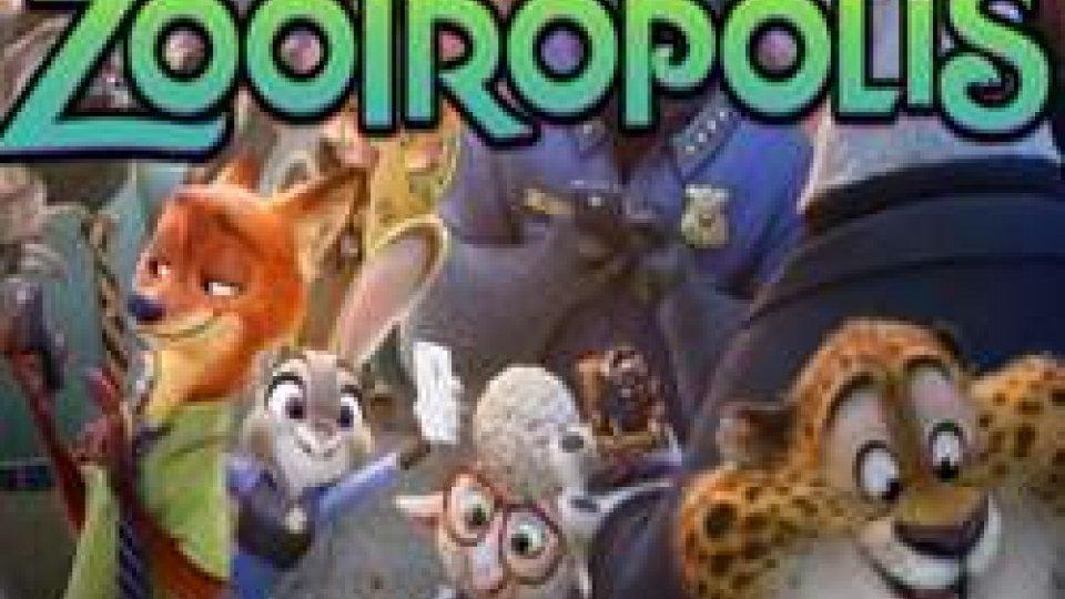 """La Vela Illuminata propone a Trarivi (Montescudo Montecolombo) una serata per la famiglia con il cartone animato Disney """"Zootropolis"""""""