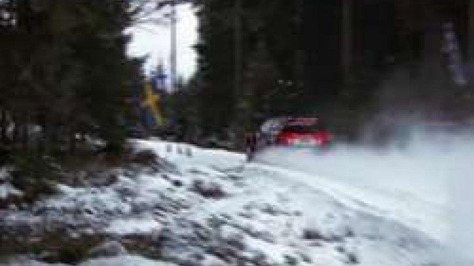 La prima giornata del Rally di Svezia