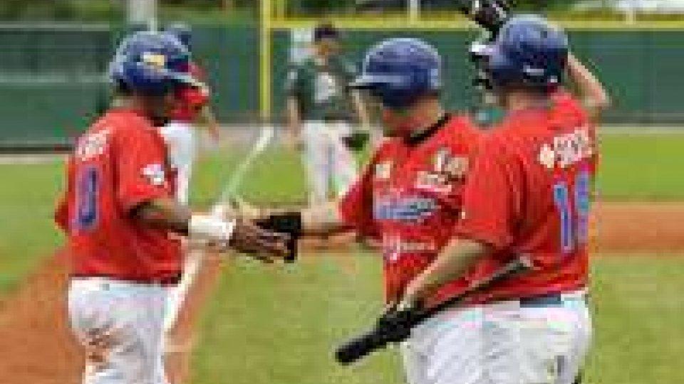 Baseball: amichevole Rimini-T&A San Marino
