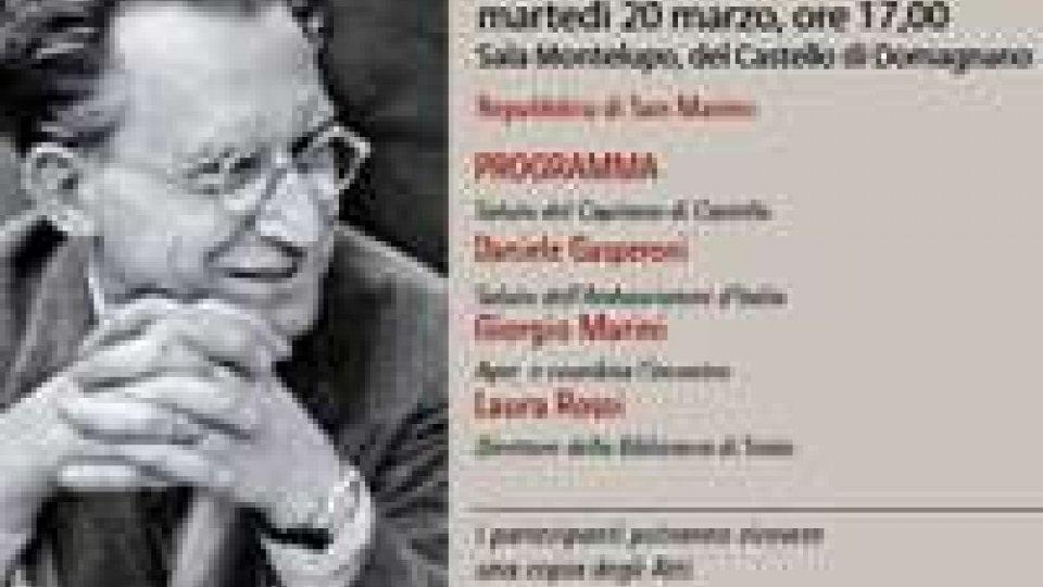 De Gasperi, Maestro di libertà. Gli atti del convegno arrivano a Roma