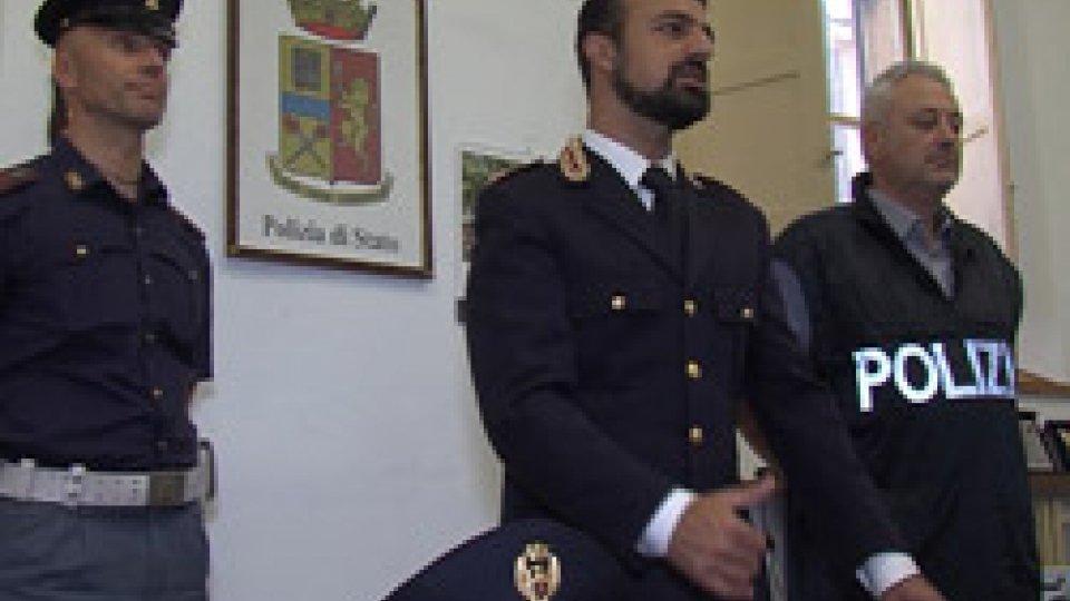 """La conferenza stampaAchille Lia in carcere a Forlì: la Polizia sottolinea la """"costante collaborazione"""" con la Gendarmeria"""