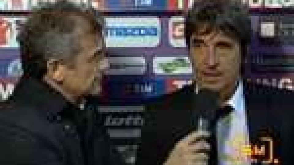 Serie A - Fiorentina - Cesena 2-0Fiorentina - Cesena 2-0. Le interviste ai de tecnici
