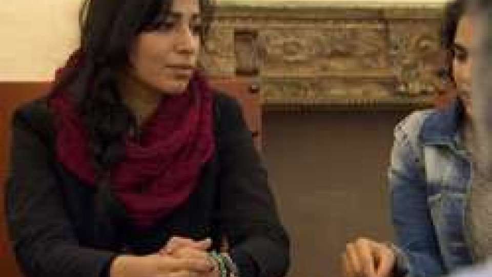 "Nidaa BadwanNidaa Badwan a San Marino: ""Libera con la mia arte, in 10 metri quadri"""