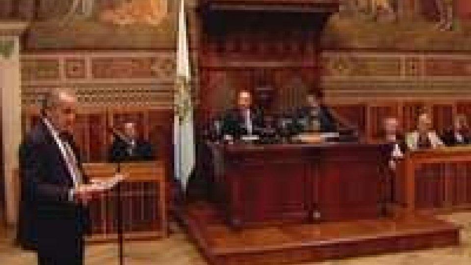 San Marino: i Capitani Reggenti ricevono i partecipanti del training Ocse