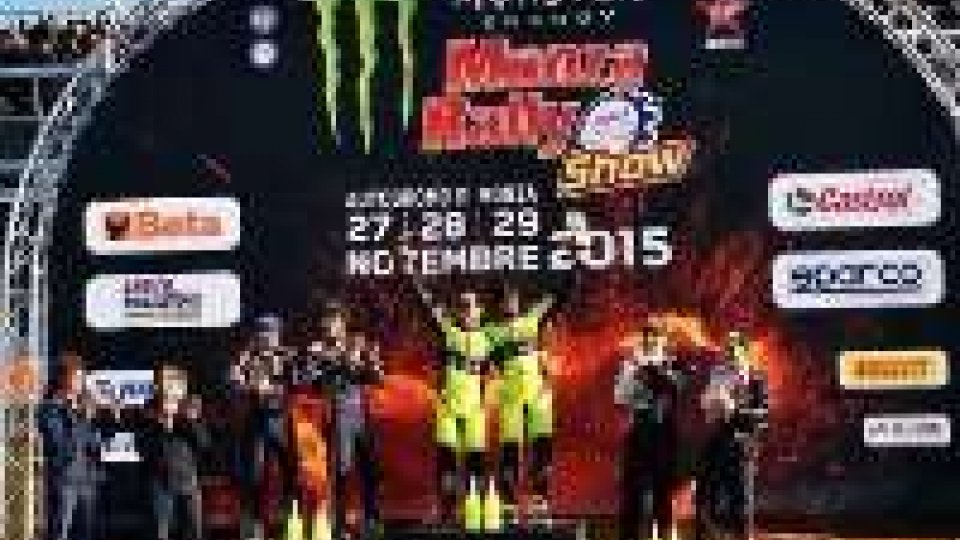 Rossi trionfa al Rally Monza ShowRossi trionfa al Rally Monza Show