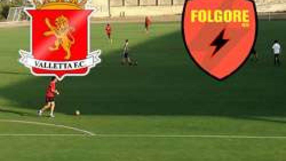 Europa League: la Folgore cede a Malta 2-0