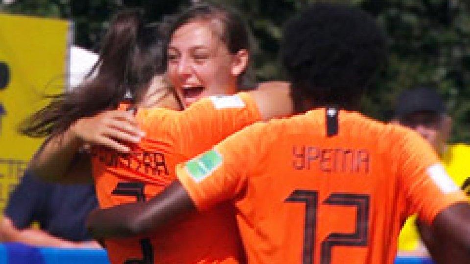 Olanda e Germania già ai quartiMondiali Femminili U20: Olanda e Germania già ai quarti
