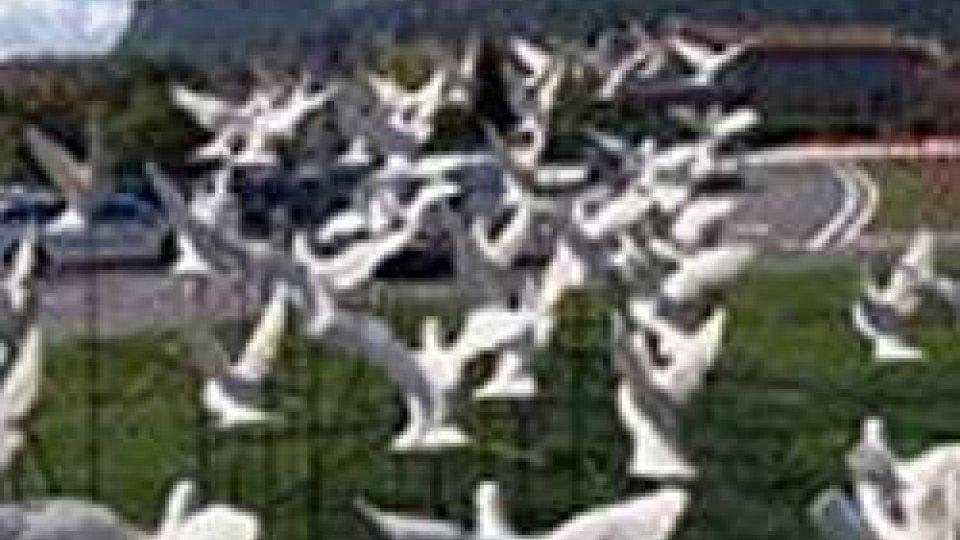 È morto Luigi Poiaghi, l'artista delle 50 colombe sammarinesi