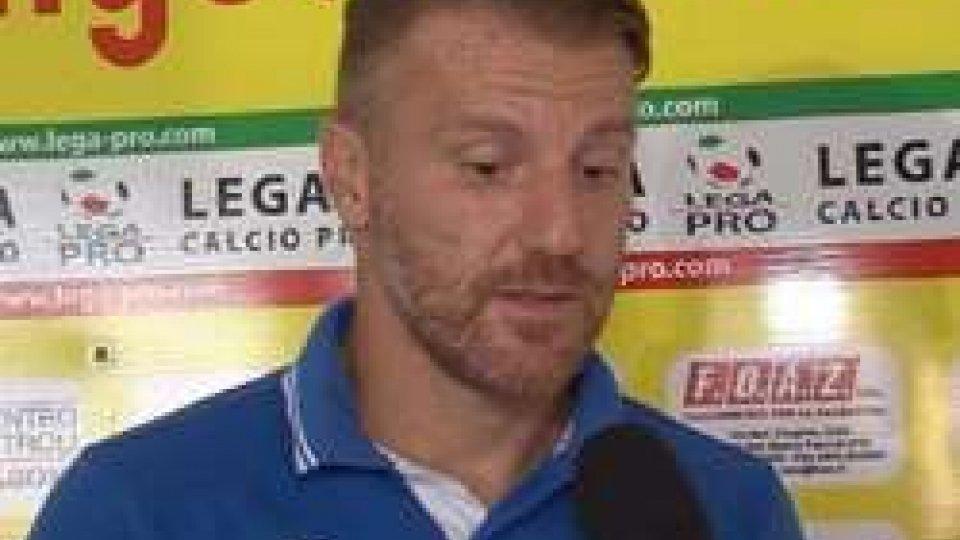 Michele MarcoliniSantarcangelo - Ancona 0-0, le interviste