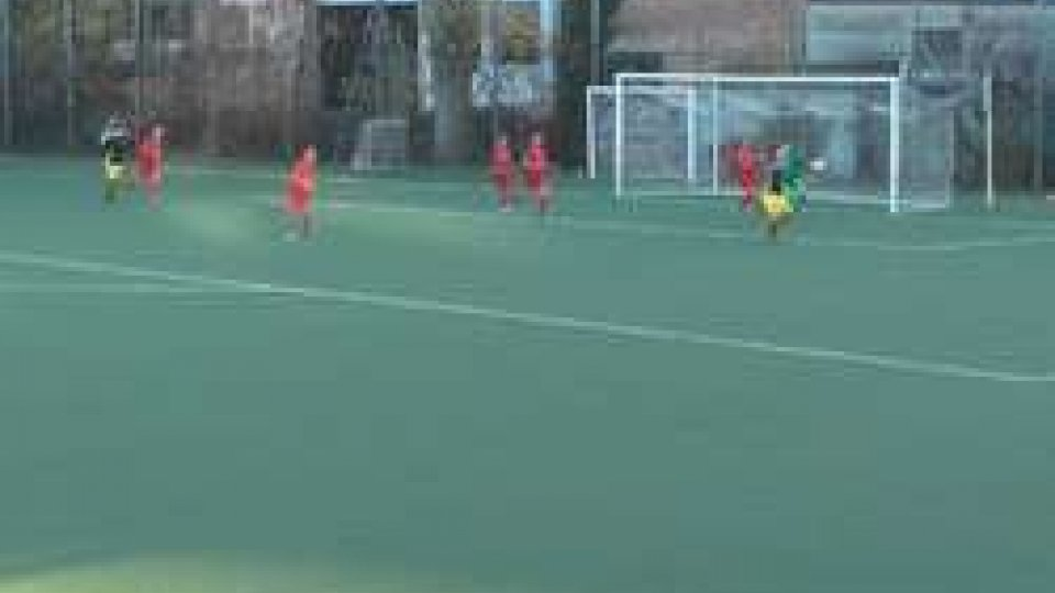 1-1 tra San Marino Academy e Riccione. In gol Dulbecco e Battelani