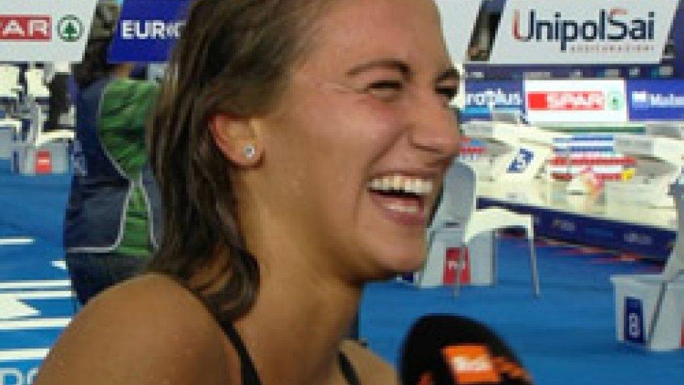 """Simona QuadarellaQuadarella col sorriso: """"Posso dire di esser forte"""""""