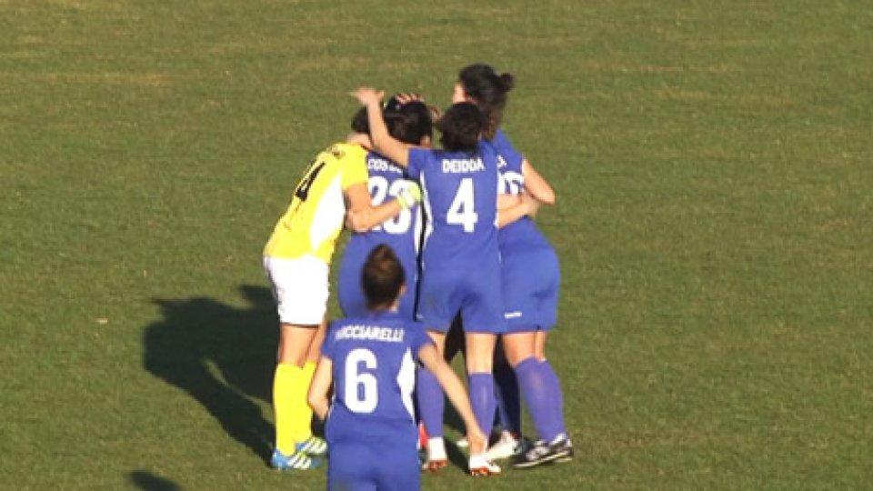 Vittoria della San Marino AcademyCalcio femminile: la San Marino Academy vince 1-0 a Jesi. Decide un gol di Raffaella Barbieri