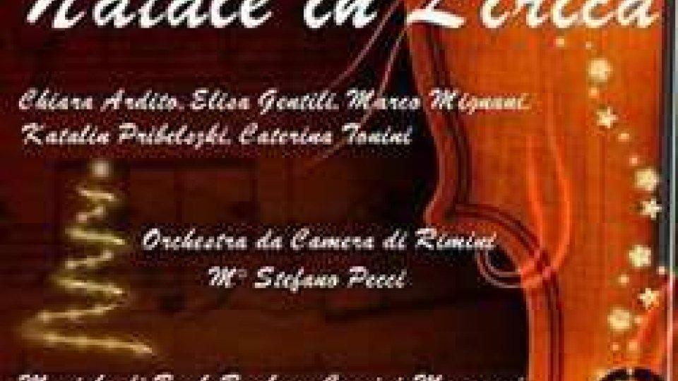 Natale in Lirica al Teatro Malatesta